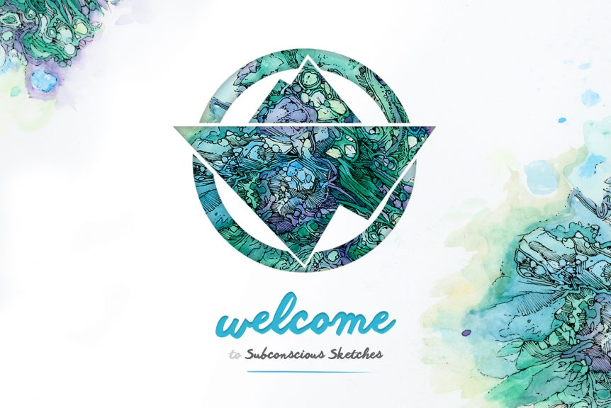 Welcome to Subconscious Sketches Blog Banner
